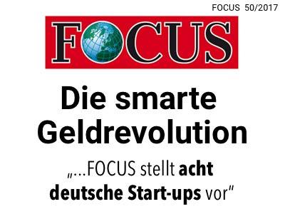 FOCUS über gonetto - Die smarte Geldrevolution