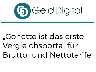 """""""Gonetto ist das erste Vergleichsportal für Brutto- und Nettotarife"""""""