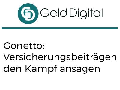 Gonetto: Versicherungsbeiträgen den Kampf ansagen