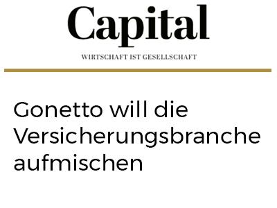 Gonetto will die Versicherungsbranche aufmischen