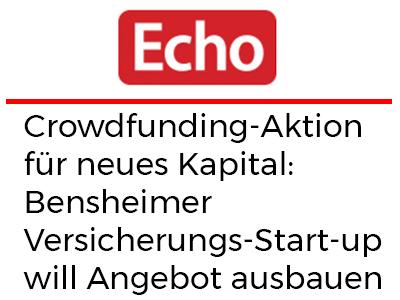 Crowdfunding-Aktion für neues Kapital: Bensheimer Versicherungs-Start-up will Angebot ausbauen