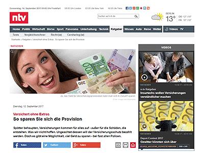 n-tv über gonetto: So sparen Sie sich die Provision