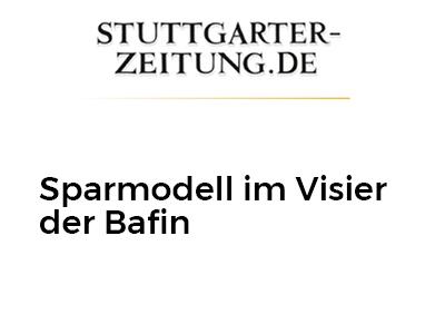 Sparmodell im Visier der Bafin